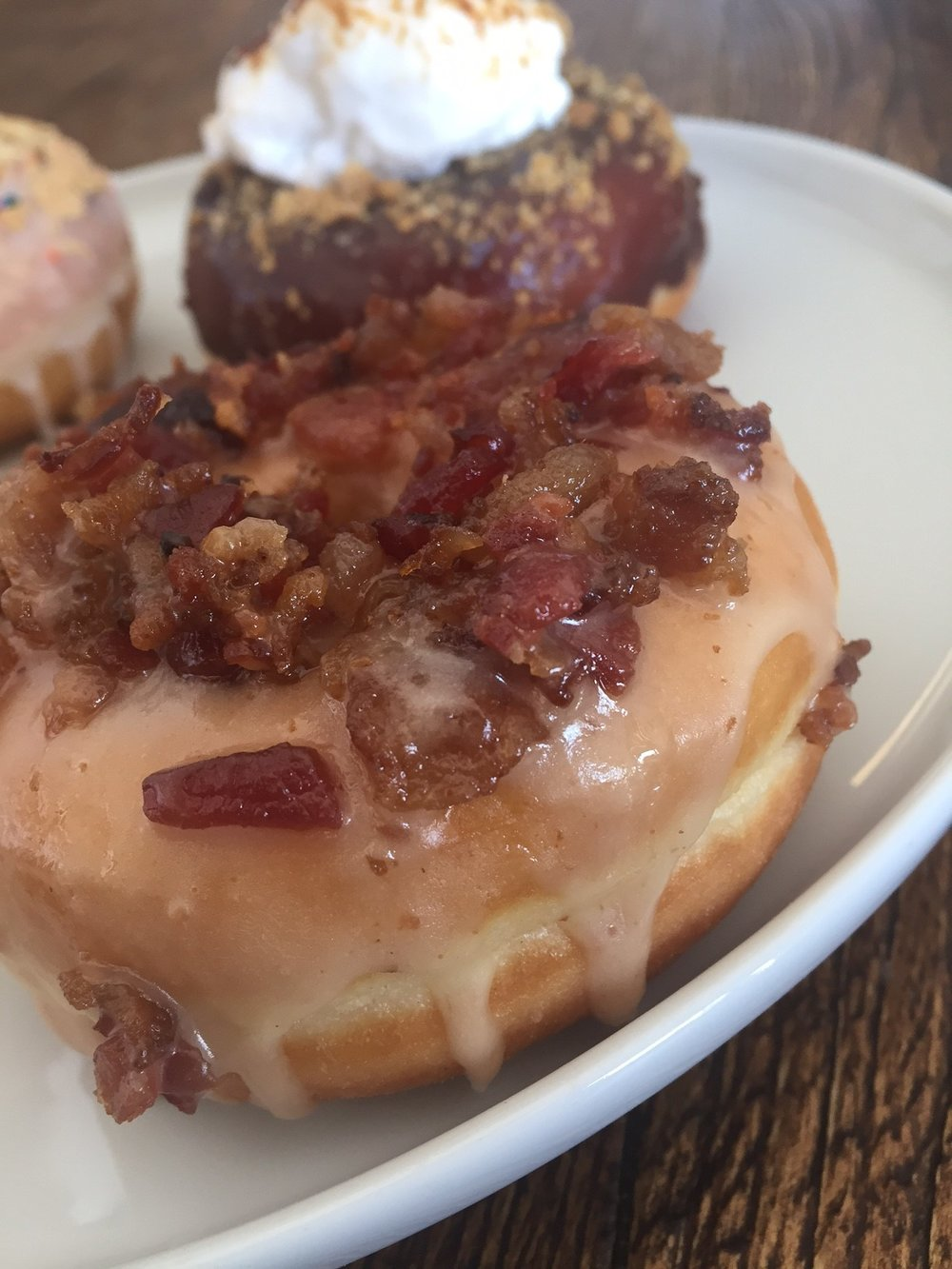Sweetness Bakeshop Maple Bacon Donut