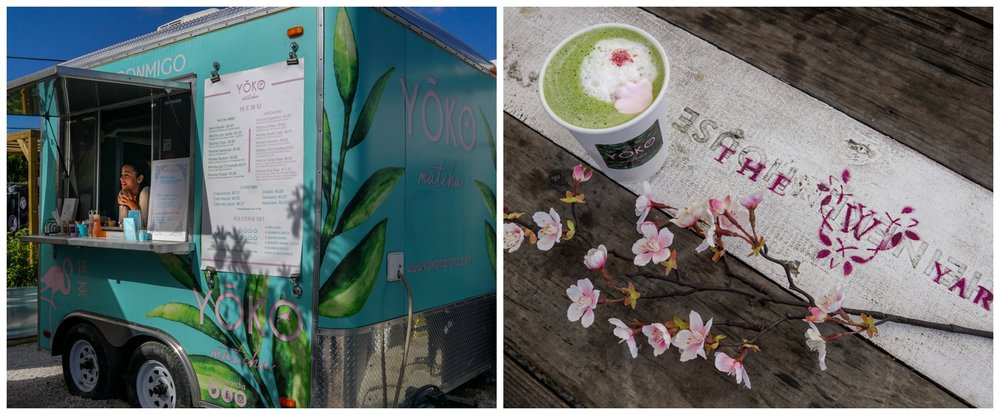 Yoko Matcha Tea at Wynwood Yard