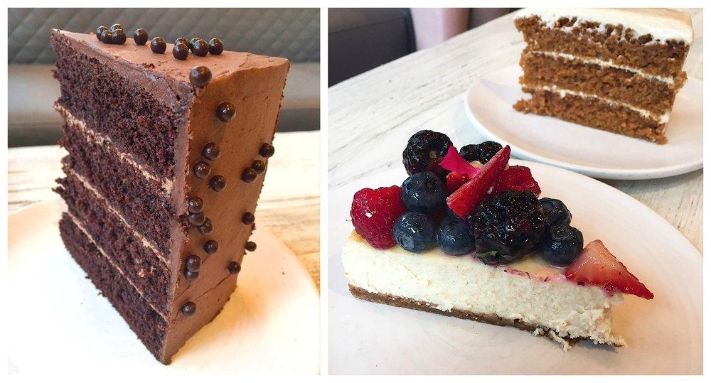 Bakehouse Brasserie Cakes