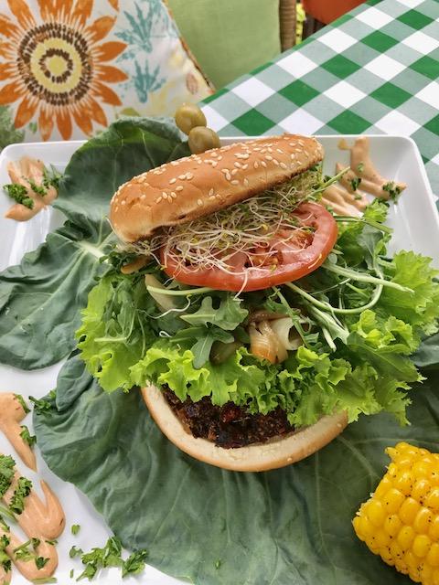 Cochayuyo Burger at Smart Bites