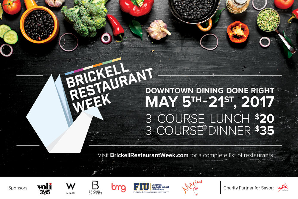 Brickell Restaurant Week 2017