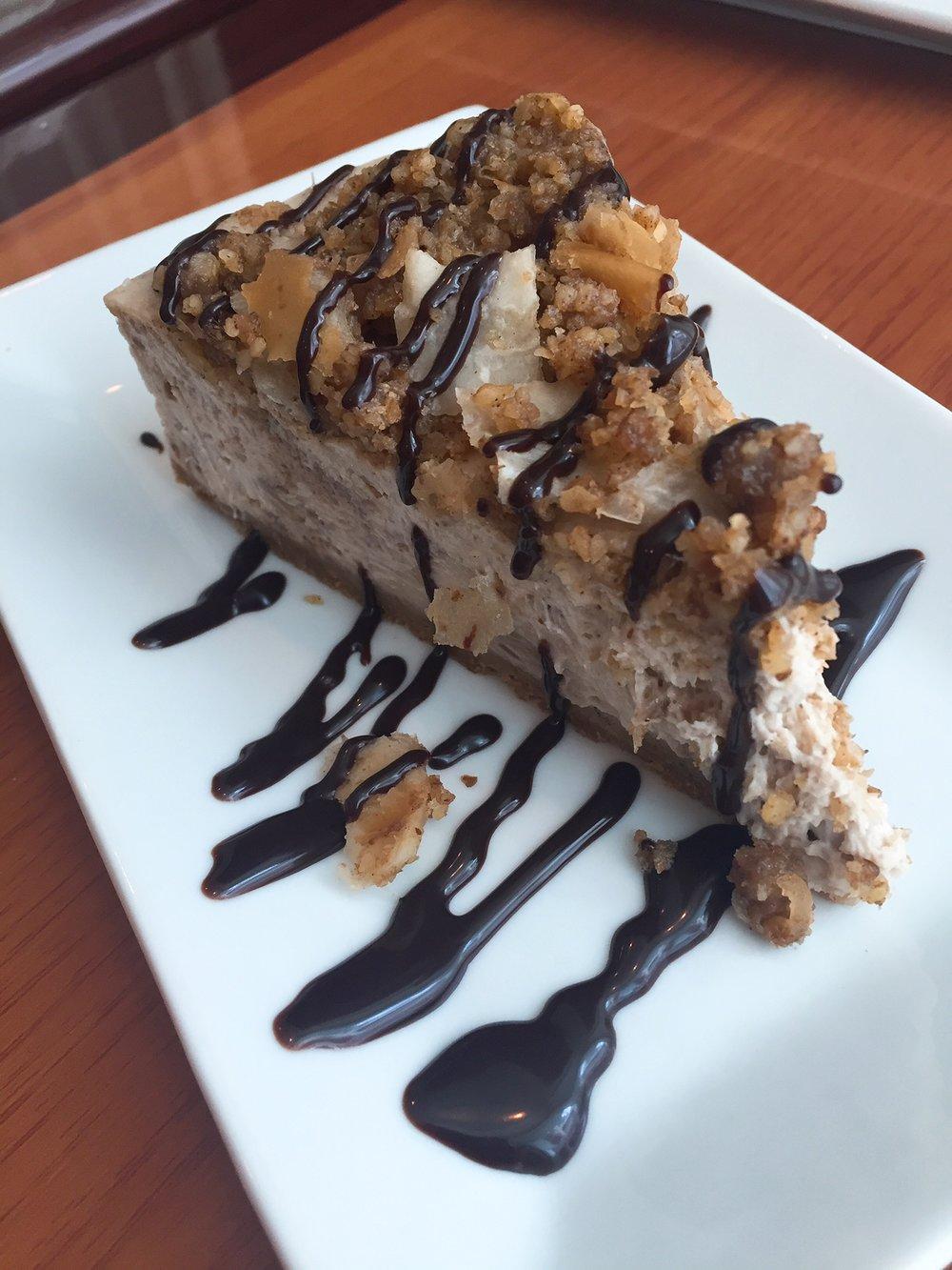 Elia Gourmet Baklava cheesecake