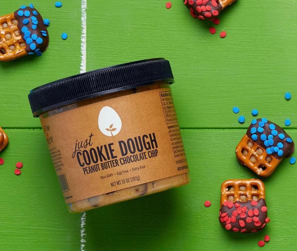 Just Cookie Dough peanut butter cookie dough