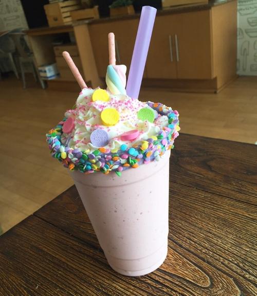 sweetness bakeshop miabites unicorn shake