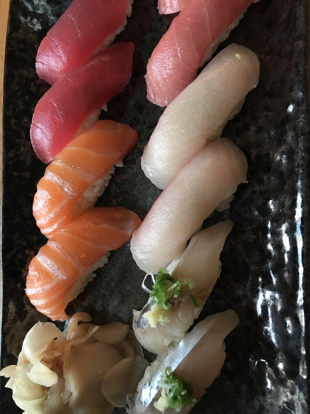 Sushi Garage Miami Nigiri