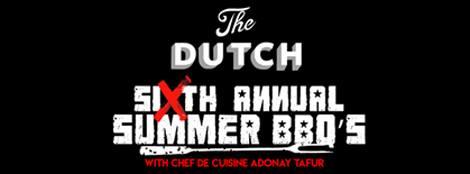 The Dutch BBQ series Nina Compton