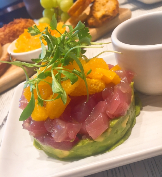 bakehouse tuna tartare