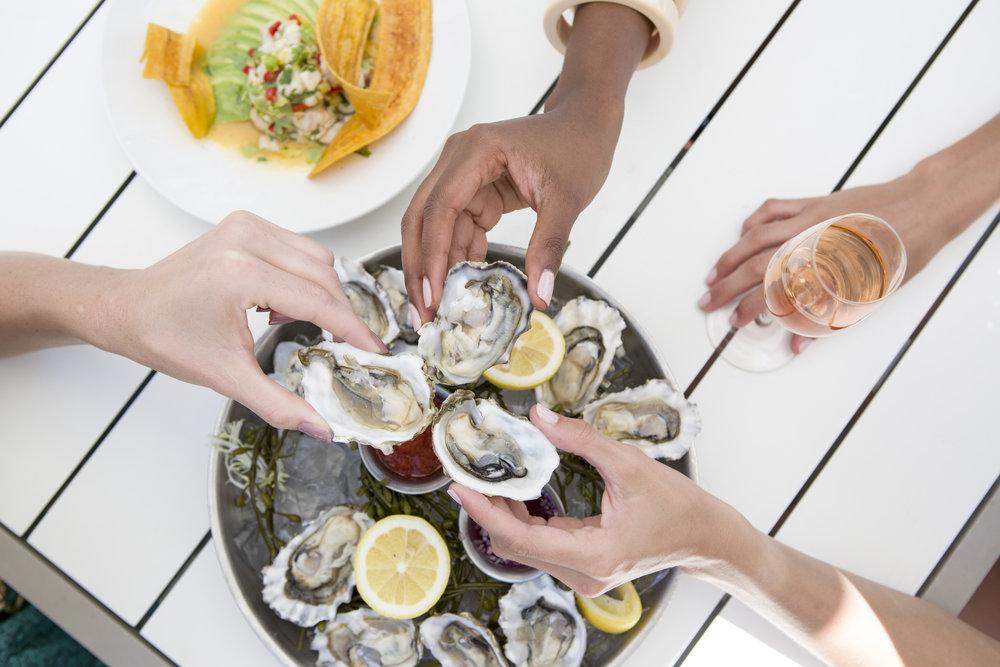 La Cote Fontainebleau Oysters