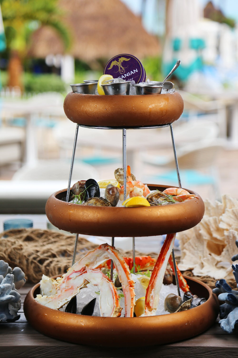 Lightkeepers Ritz Carlton Key Biscayne Seafood Tower