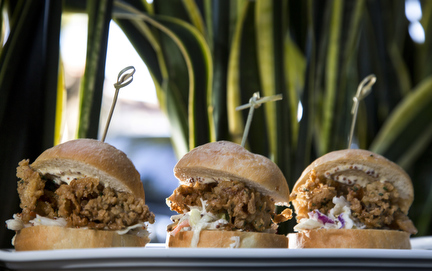 Po Boy Sliders at Wild Sea Oyster Bar and Grill Fort Lauderdale