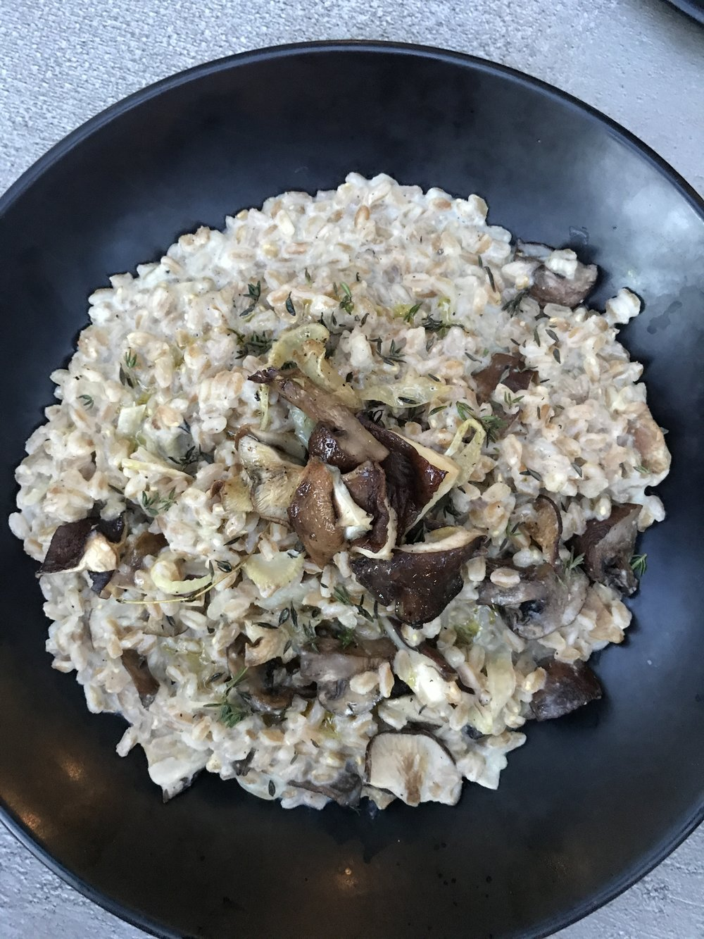 GLAM Vegan Faro Risotto
