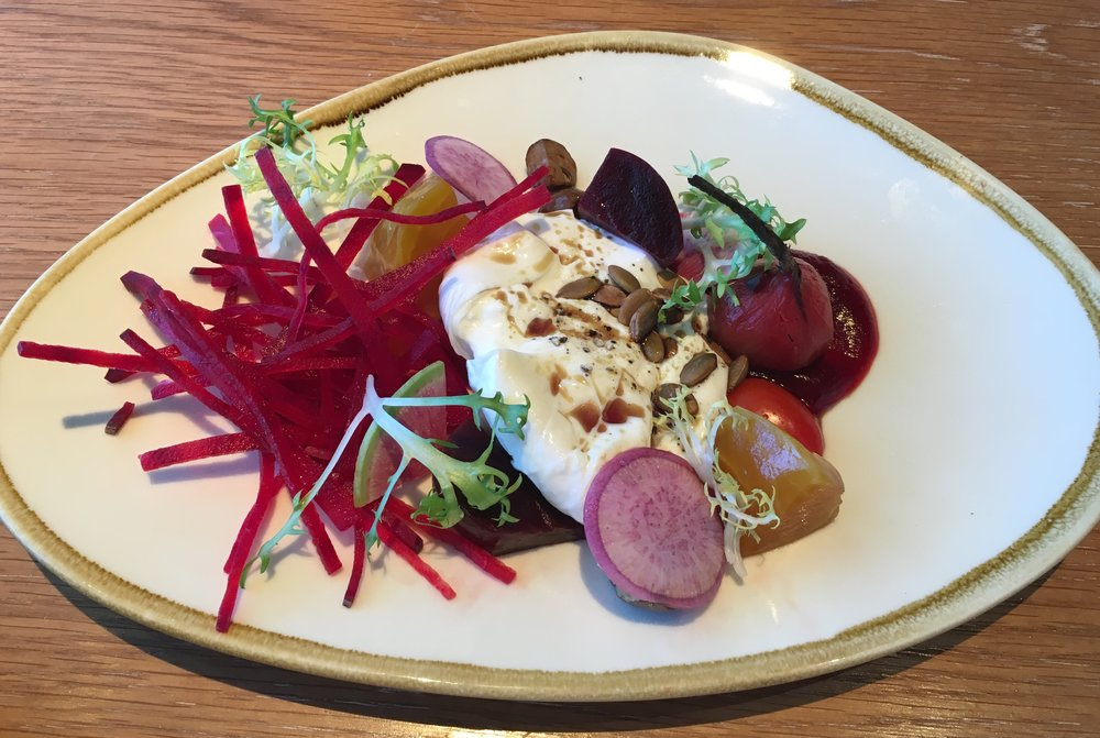 Lightkeepers Beets and Burrata
