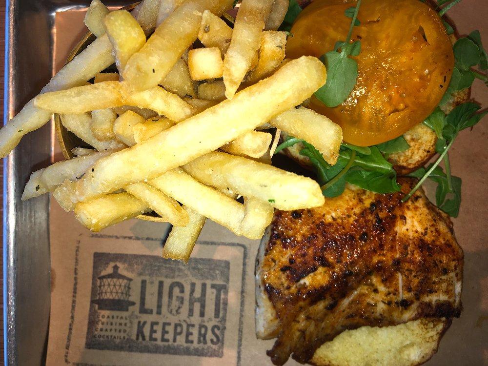 Lightkeepers Mahi Sandwich