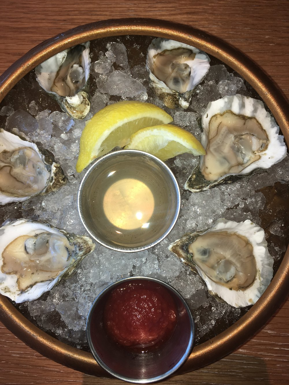 Lightkeepers oysters