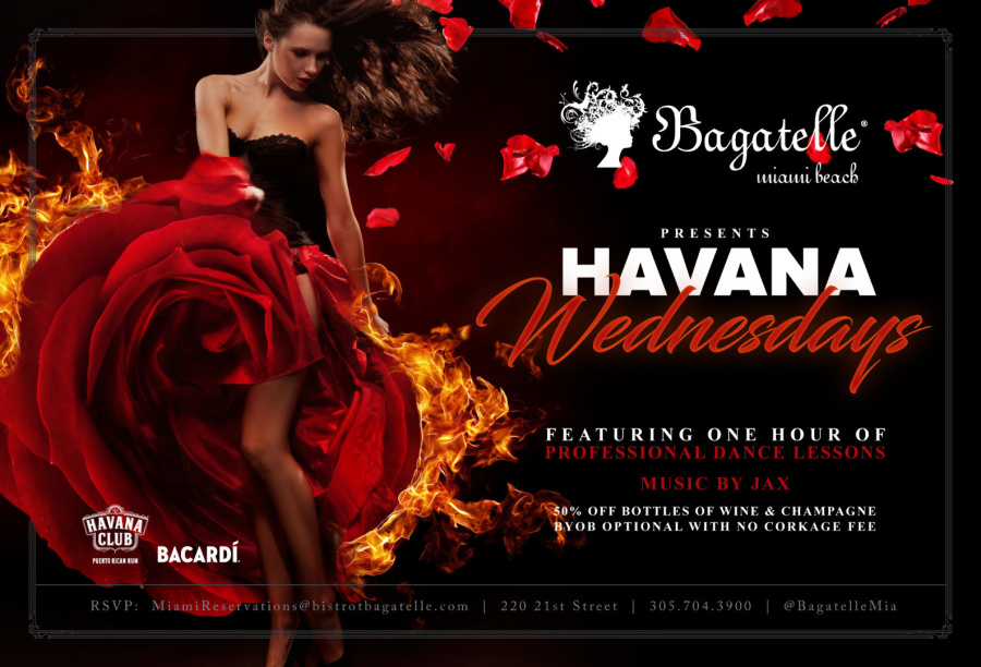 Bagatelle Miami Beach Havana Nights