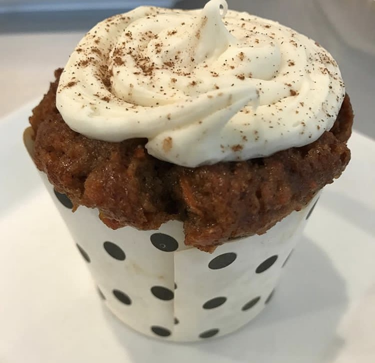 Fit Foodz Cafe Carrot Cake Cupcake