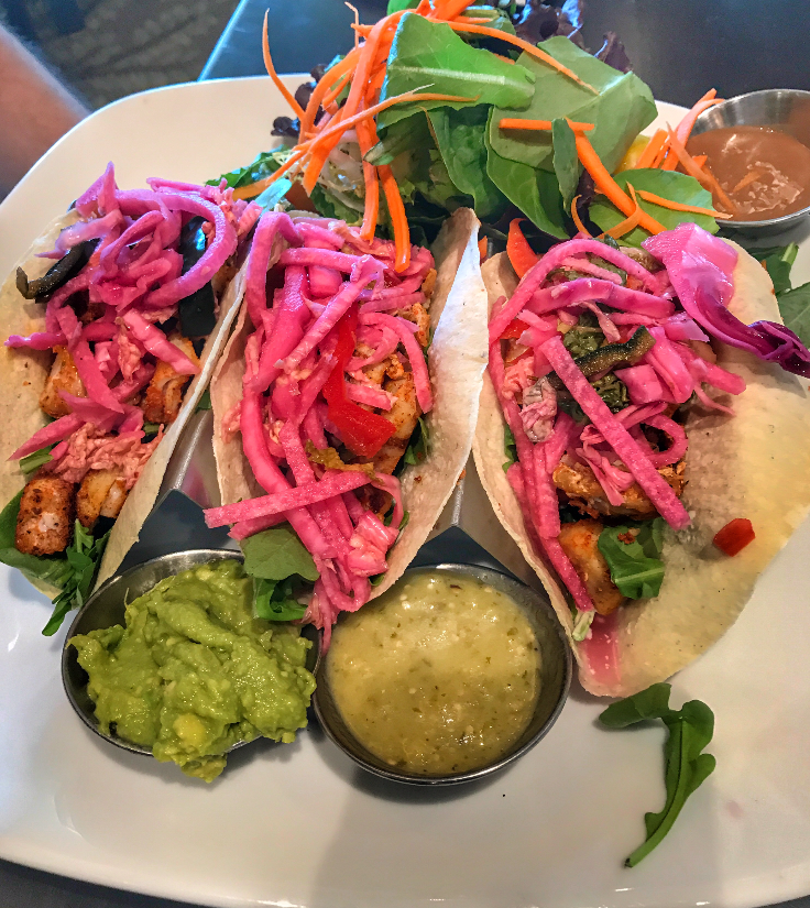 Harvest Kitchen and Wine Bar Delray Fish Tacos