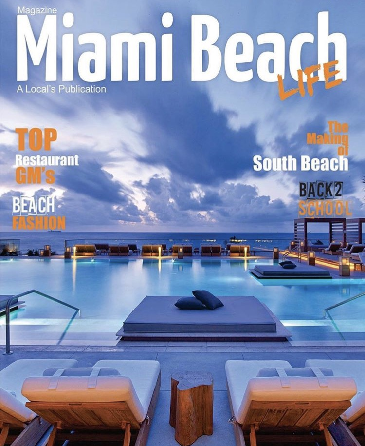 Miami Beach Magazine August September Issue