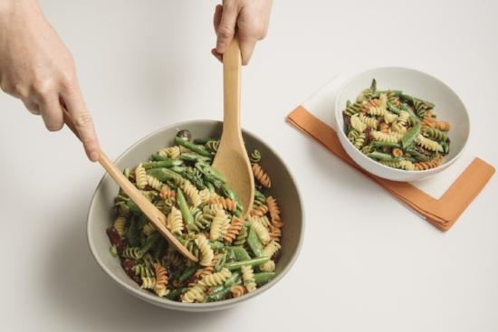 Mediterranean pasta salad just mayo