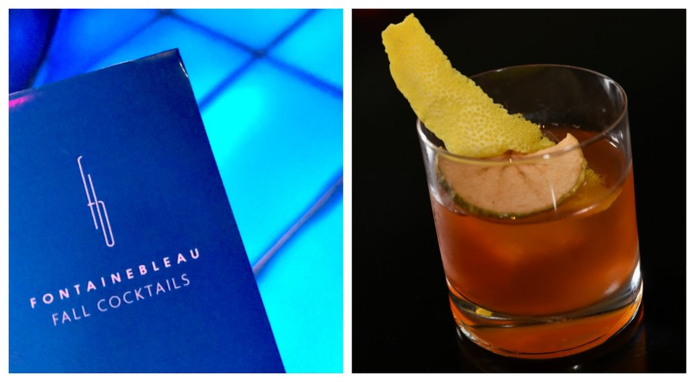 Fontainebleau Miami Bleau Bar cocktails