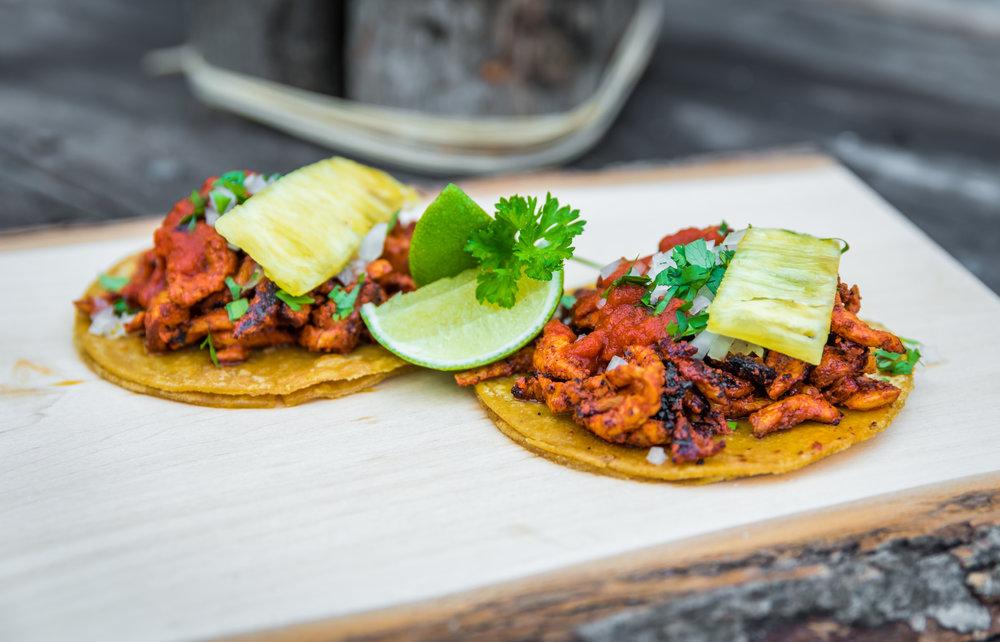 La Santa Taqueria Miami Al Pastor Taco