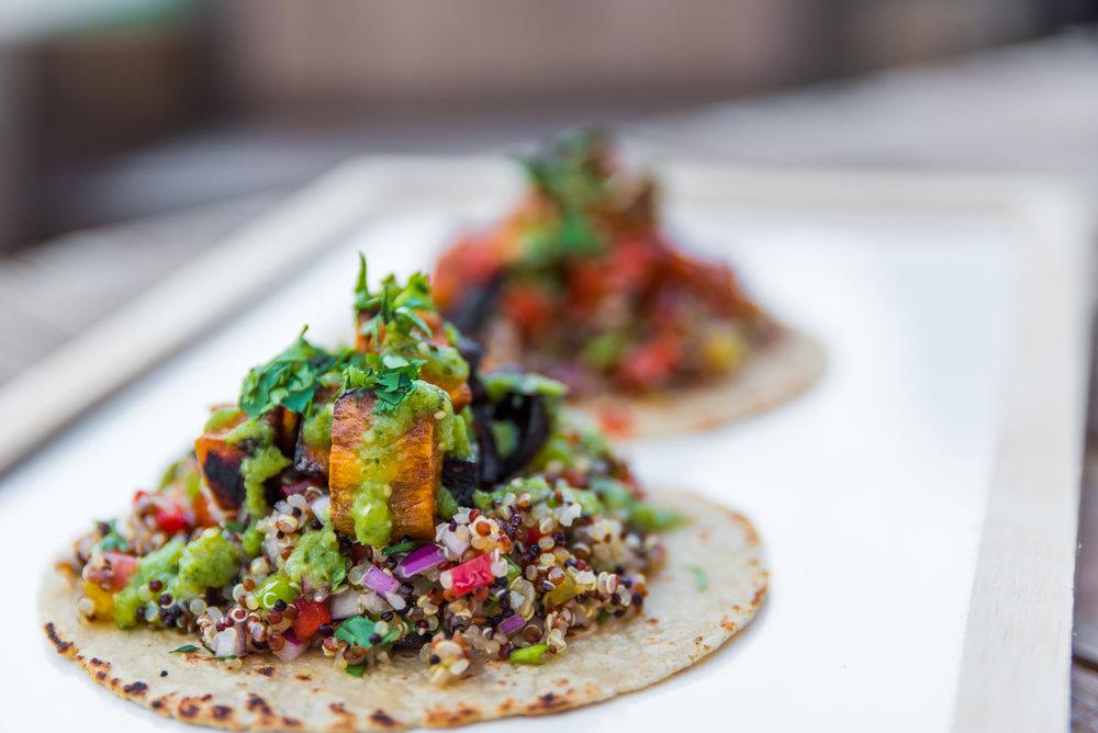 La Santa Taqueria Miami Vegan Quinoa Taco