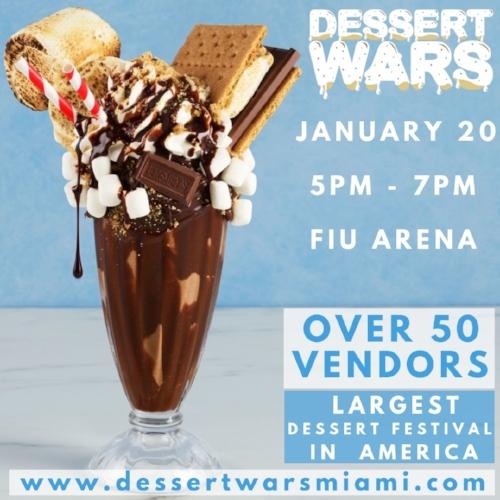 Dessert Wars Flyer miabites