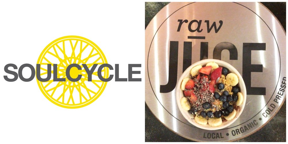 SoulCycle Brickell Miami Raw Juce
