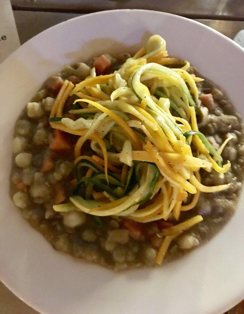 Chef Allen Susser Farm to Table Spaghetti squash