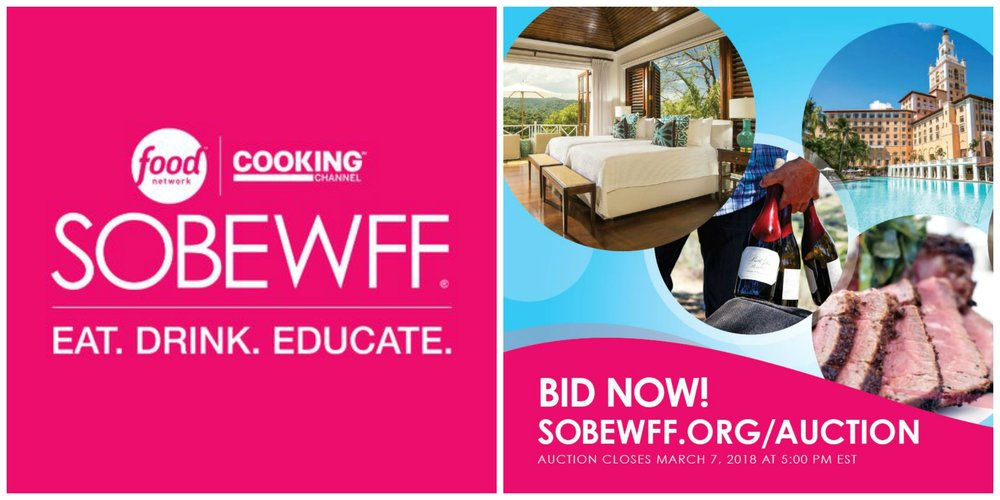 SOBEWFF 2018 Auction Items