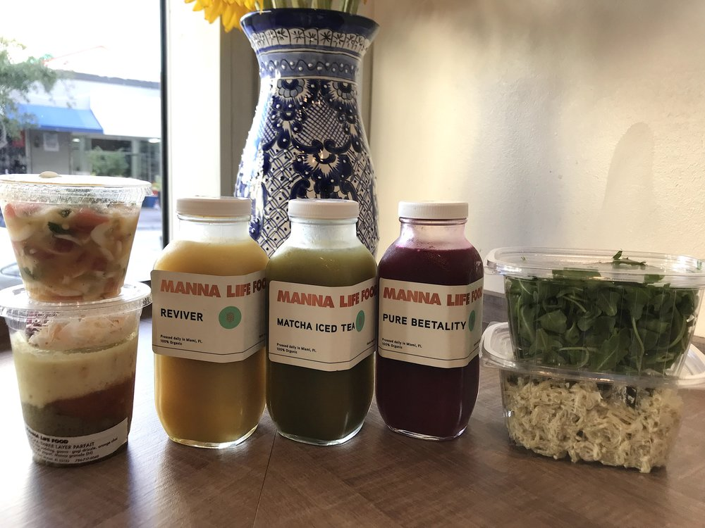 Manna Life Food Miami 2 Day Vegan Cleanse