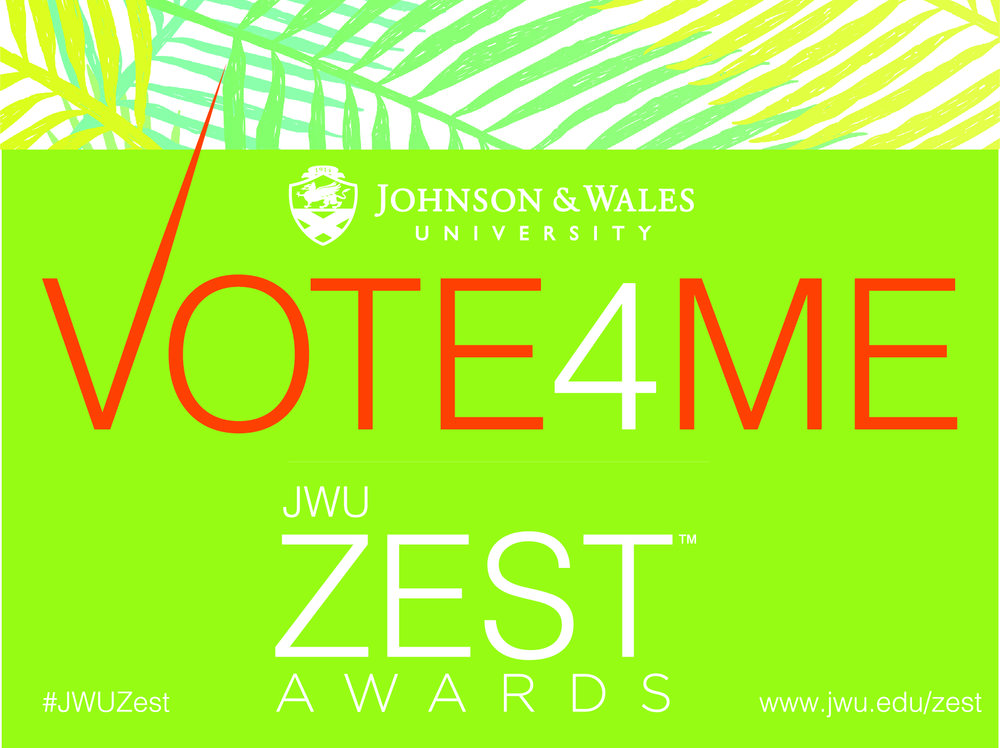 JWU Zest Awards 2018 Top Food Influencer MIAbites
