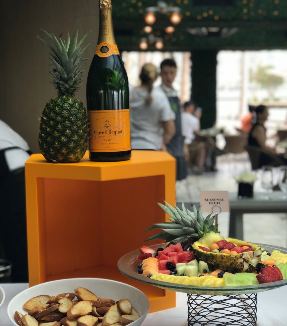 Cantina la Veinte Mexican Champagne Brunch