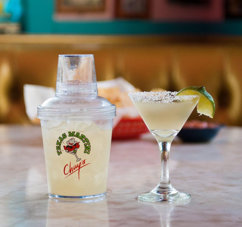 Texas Martini 2 chuys cinco de mayo