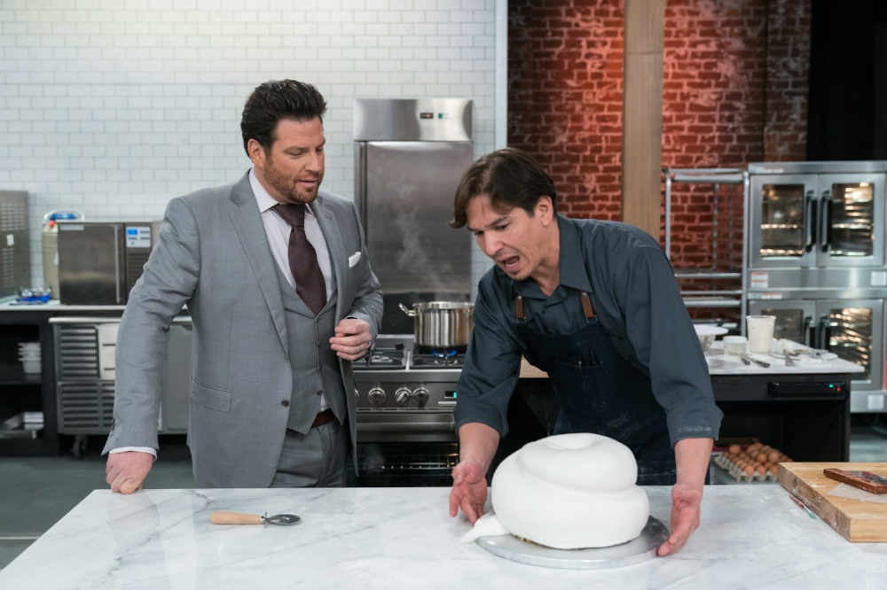 Host Scott Conant (L) and Max Santiago during the Master Challenge.jpeg