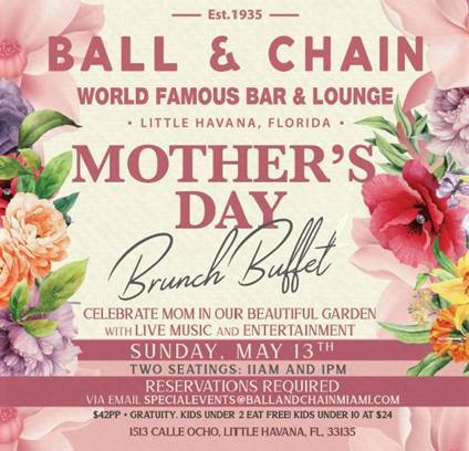 ball and chain mothers day