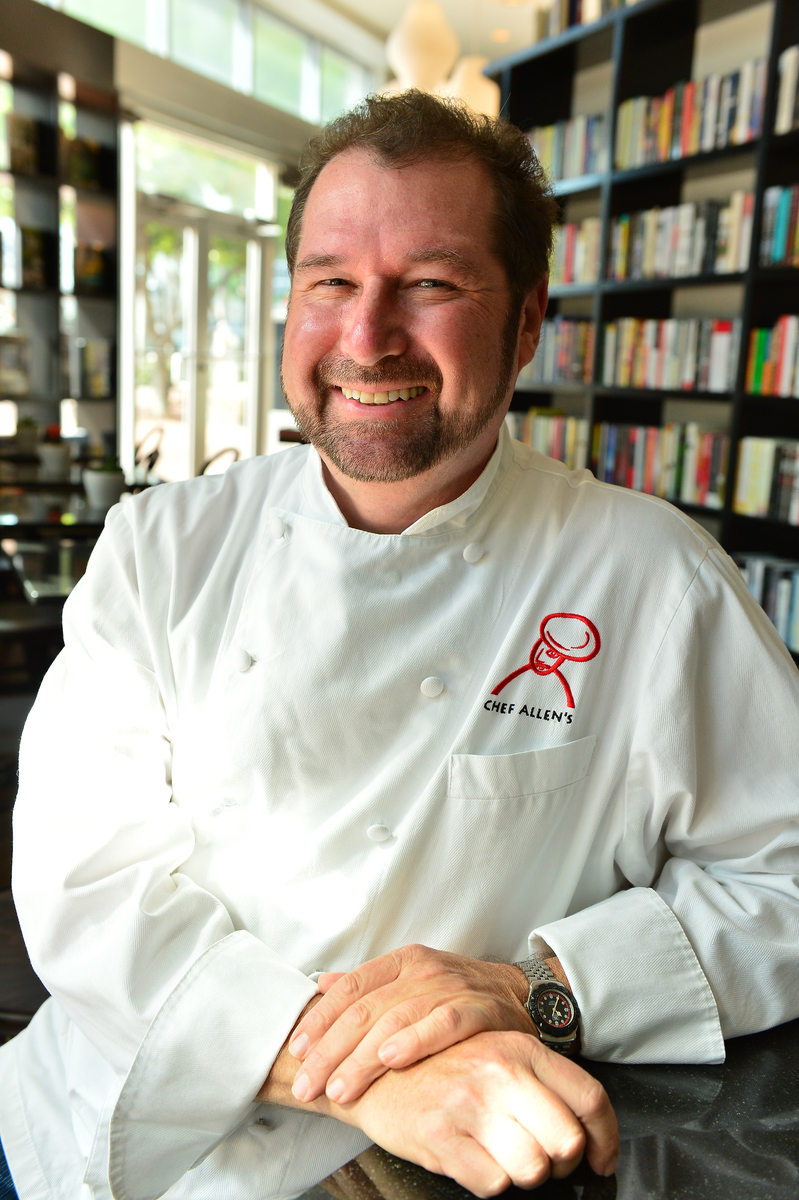 Chef Allen Susser Cafe at Books and Books