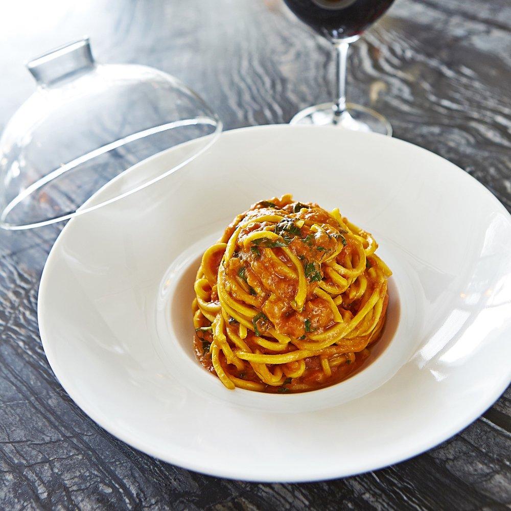 Scarpetta Spaghetti with Tomato and Basil