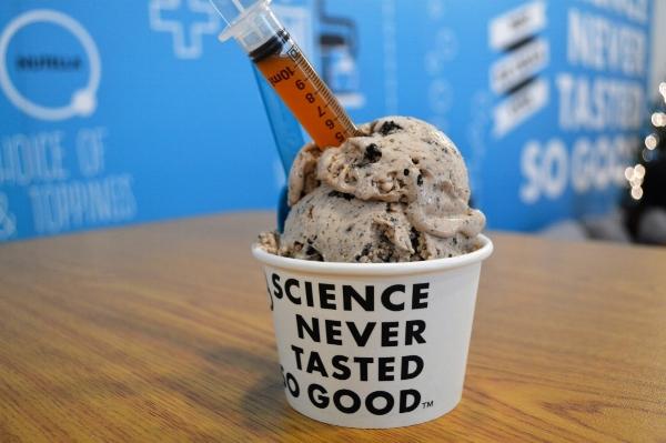 brain freeze ice cream