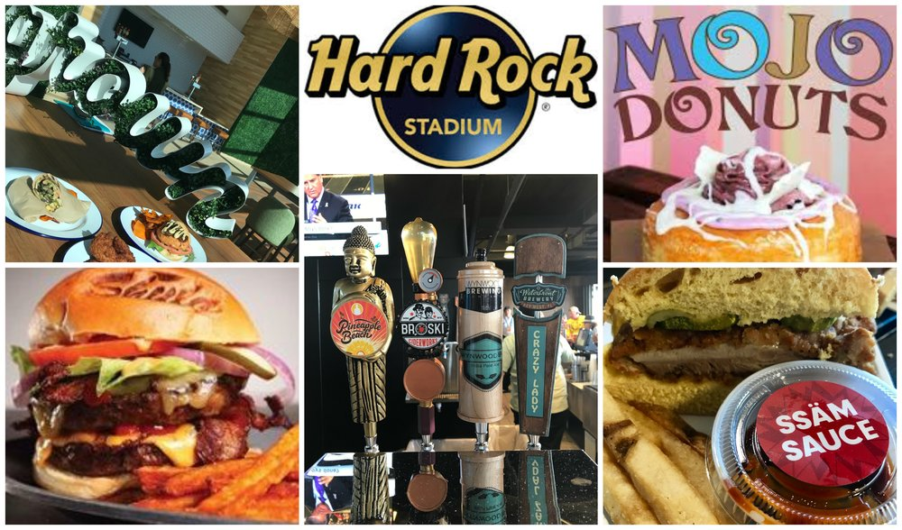 Hard Rock Stadium Food Services