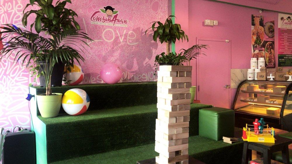 CombinAsian Miami Vegan cafe