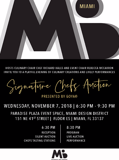 March of Dimes Signature Chefs Auction Miami 2018