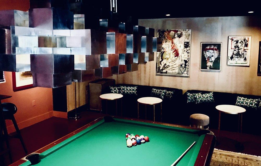 Vagabond Village Pool Hall Brigitte