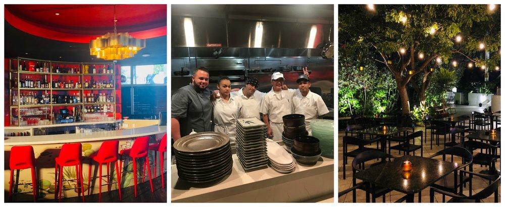 Vagabond Hotel Village interior and chefs