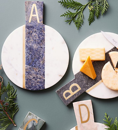 Anthropologie Cheese Board Gift MIAbites