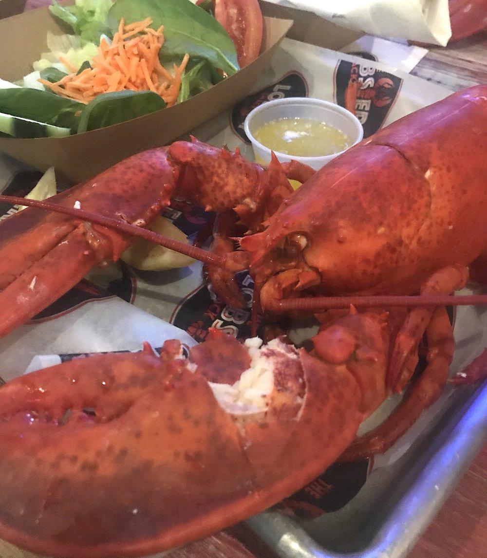Lobster Shack Lobster Dinner Miami Beach