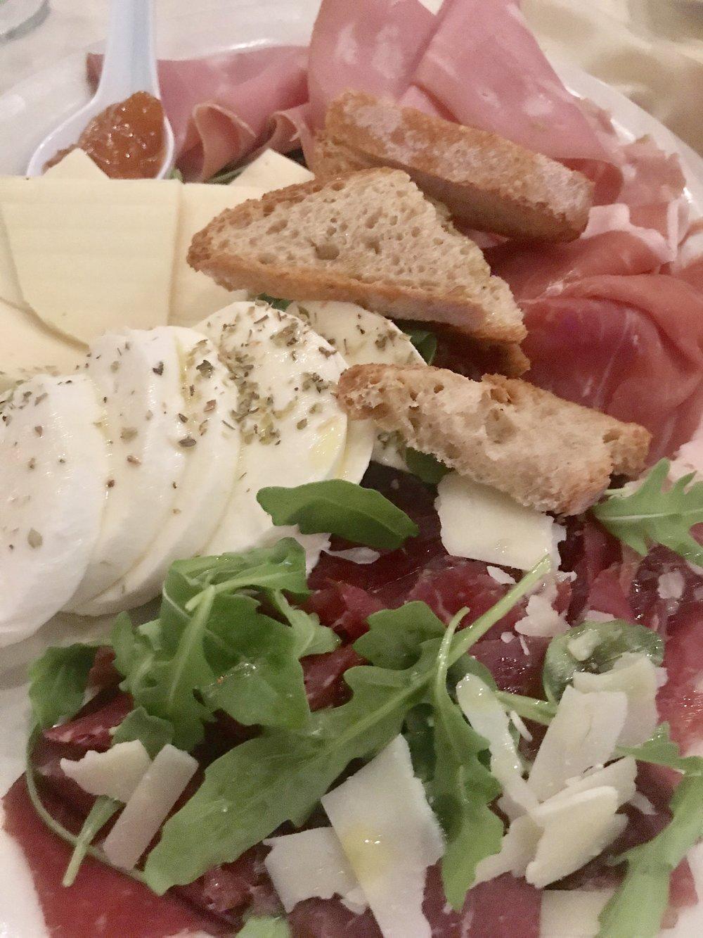 Capri New Style Salumi Appetizer
