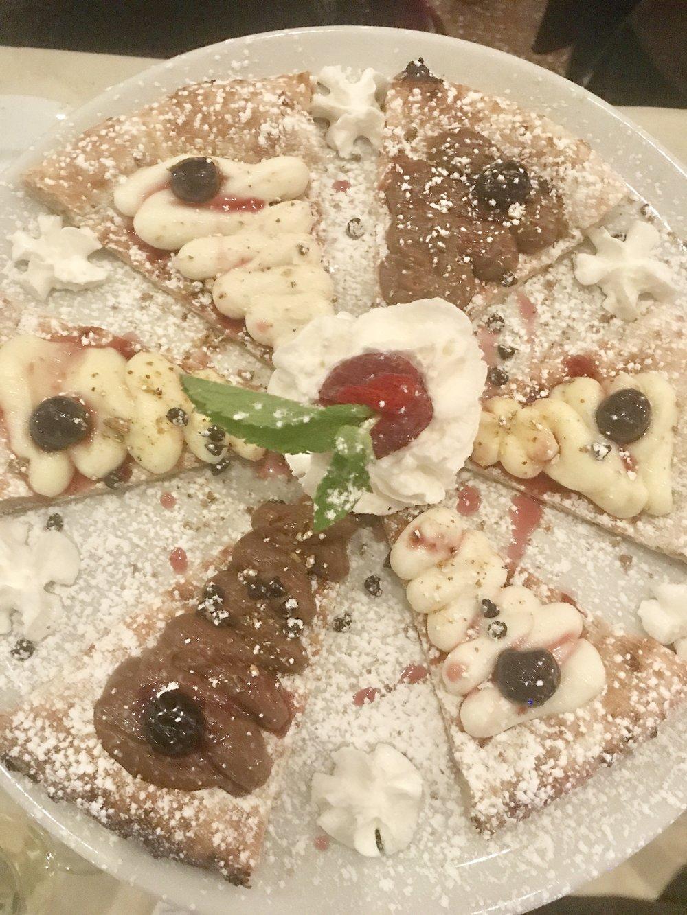 Capri Dessert Pizza
