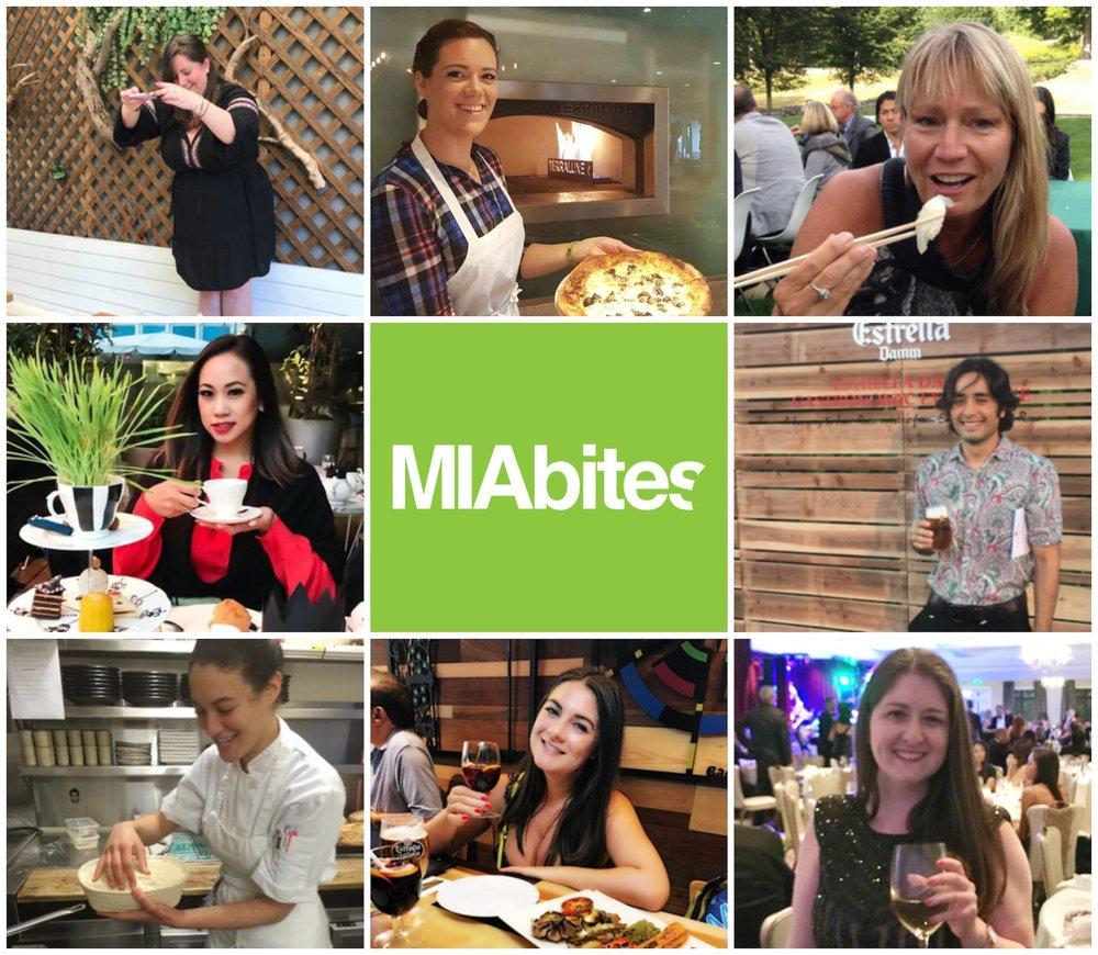 MIAbites Contributors 2018 Happy Holidays