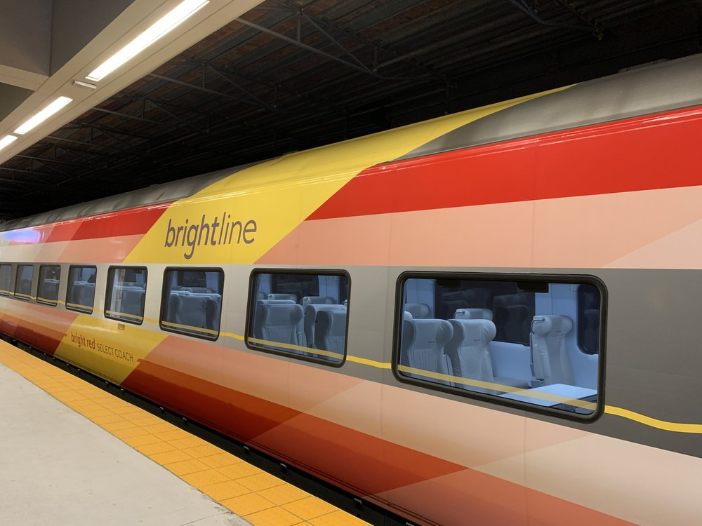Brightline Train Miami Virgin Trains USA